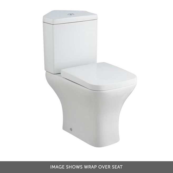 Harbour Alchemy Corner Toilet & Soft Close Seat